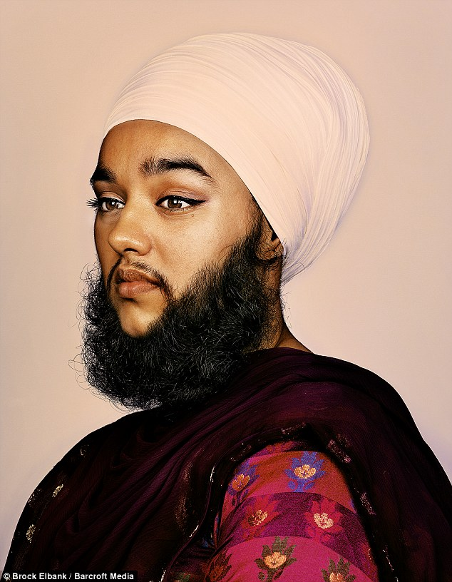 beard woman